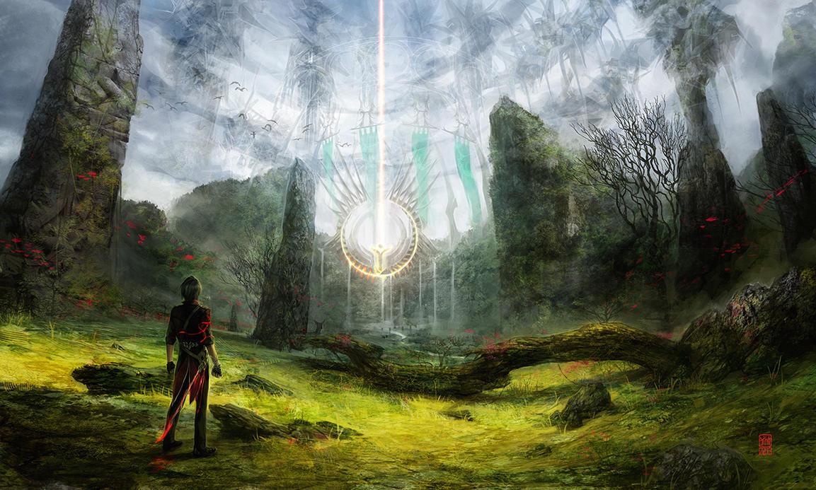 Hidden Temple by tincek-marincek