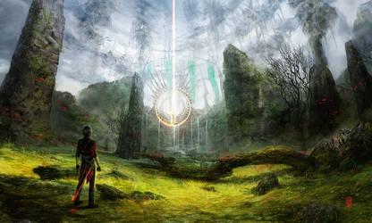 Hidden Temple by Valentina-Remenar