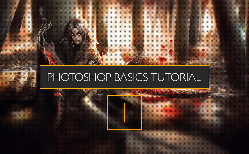 Photoshop tutorial- PS basics for newbies by tincek-marincek
