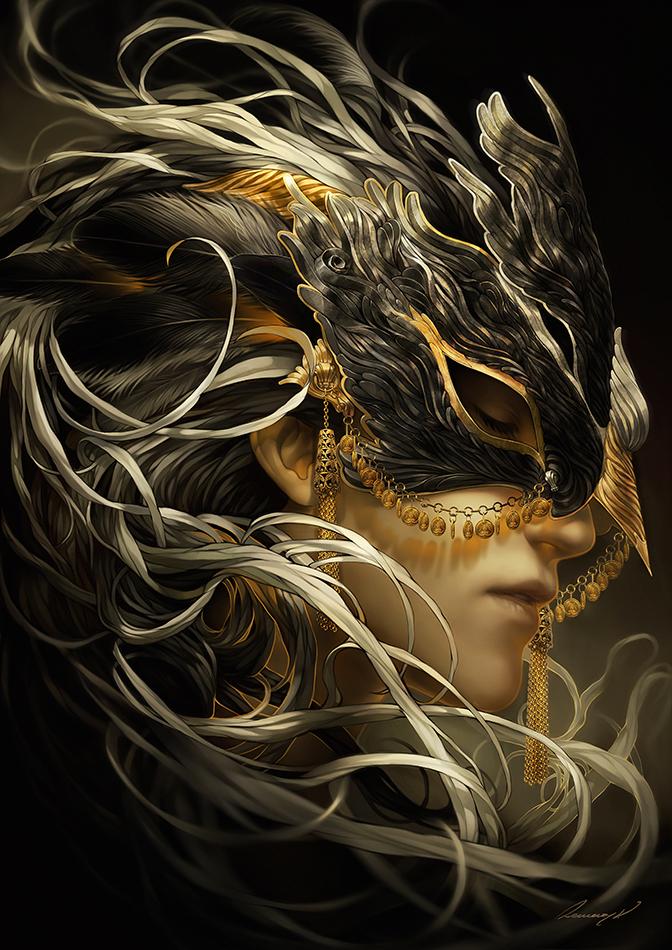 Black Swan by Valentina-Remenar
