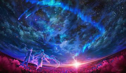 Path To The Horizon by Valentina-Remenar