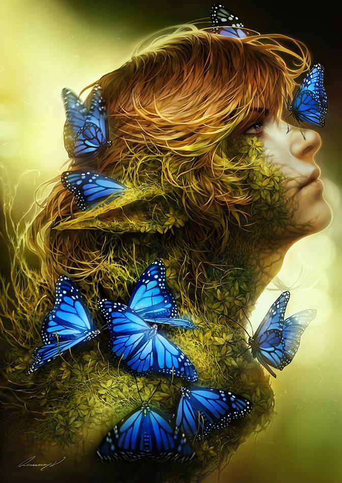 Forest's Beauty by tincek-marincek