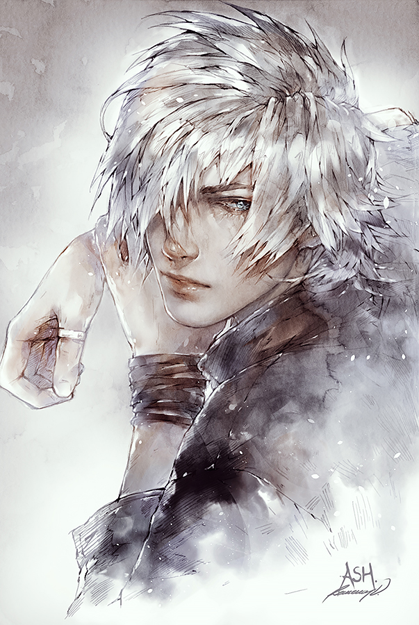 White Angel by Valentina-Remenar on DeviantArt Anime Angel And Demon Drawing