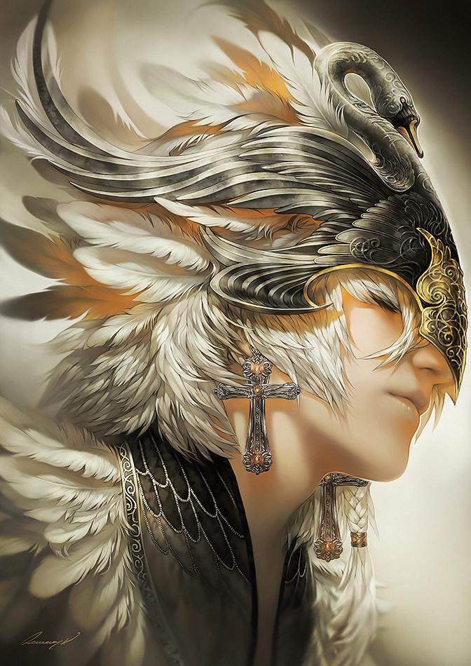 White Swan by tincek-marincek