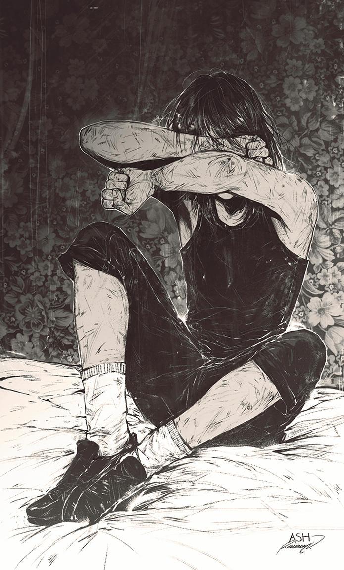 Sadness Within by Valentina-Remenar on DeviantArt | 695 x 1150 jpeg 218kB