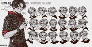 HOW TO: Face Expressions Reference