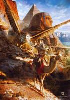 Assassin's Creed Origins by Valentina-Remenar