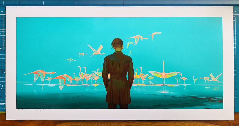 Painter of Dreams print by Valentina-Remenar
