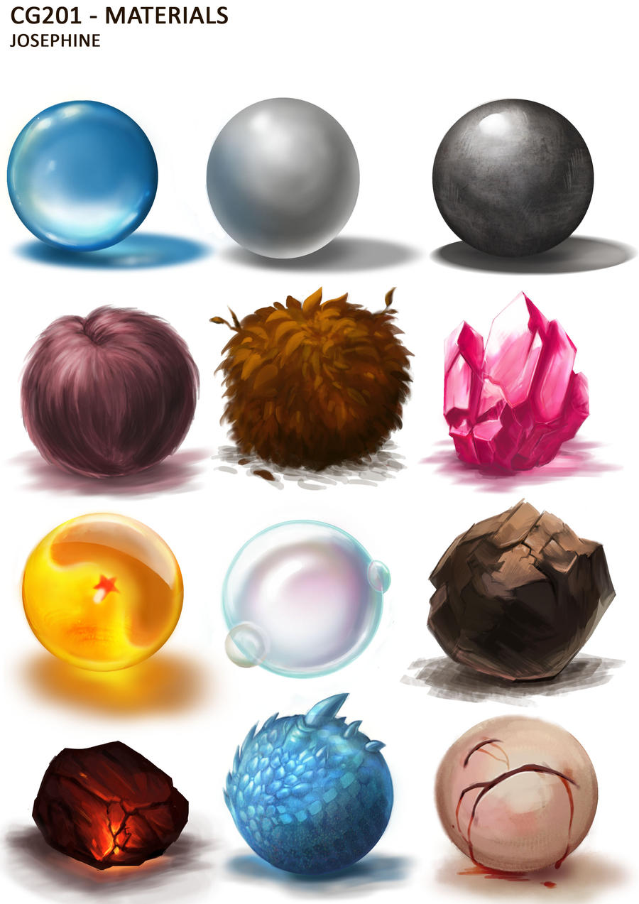 Material Studies by Joaru