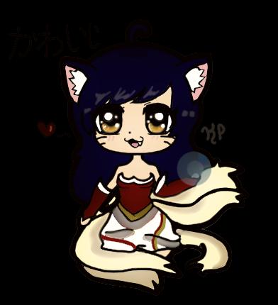 Ahri (Rendered Version) by KawaiiNyanko