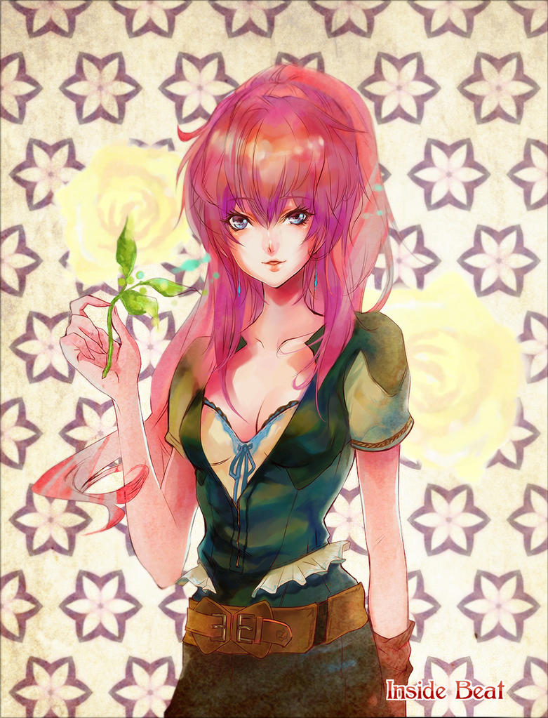 parfum rose by IC-Kaname