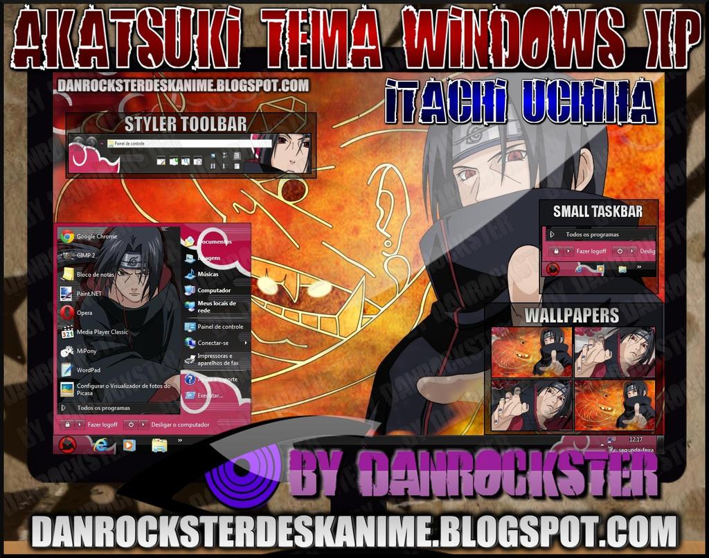 Google chrome theme itachi - Itachi Theme Windows Xp By Danrockster Itachi Theme Windows Xp By Danrockster