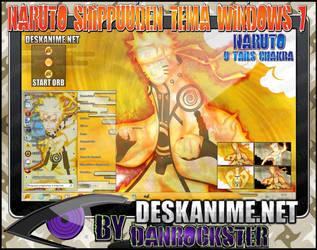 Naruto 9 Tails Chakra Theme Windows 7 by Danrockster