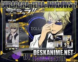 Shizuo Heiwajima Theme Windows 7