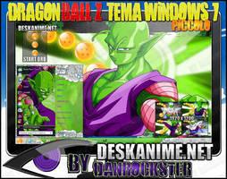 Piccolo Theme Windows 7 by Danrockster