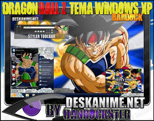 Bardock Theme Windows XP by Danrockster