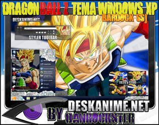 Bardock SSJ Theme Windows XP by Danrockster