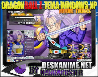 Future Trunks Theme Windows XP by Danrockster