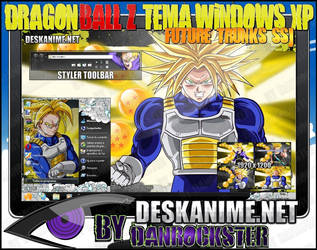 Future Trunks SSJ Theme Windows XP by Danrockster
