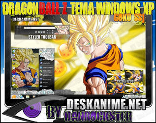 Goku SSJ Theme Windows XP by Danrockster