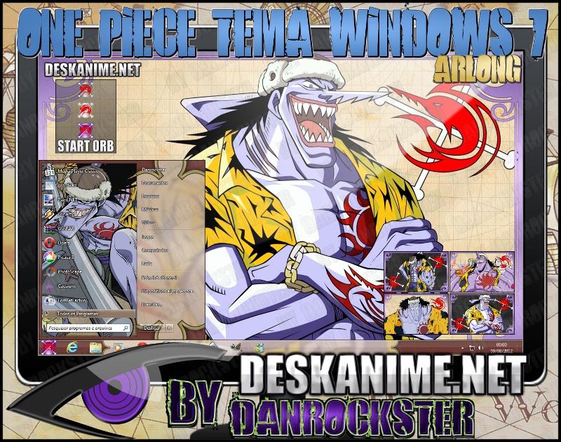 Arlong Theme Windows 7 by Danrockster