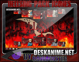 Hellsing Pack Icons by Danrockster