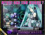 Hatsune Miku Theme Windows 7