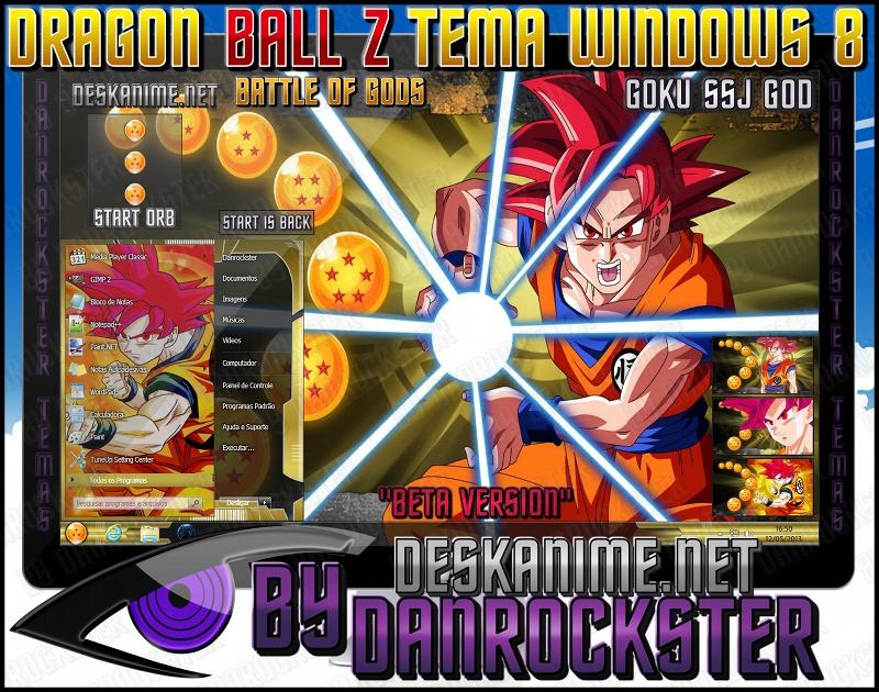 Tổng hợp theme dragon ball máy tính window