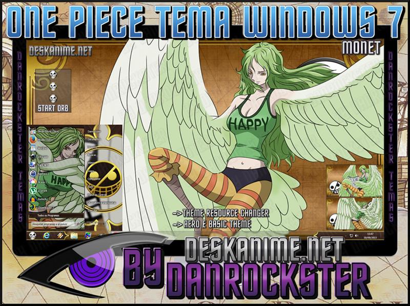 Monet Theme Windows 7 by Danrockster