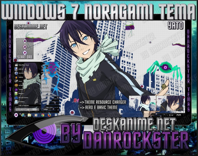 Yato Windows 7 Theme by Danrockster