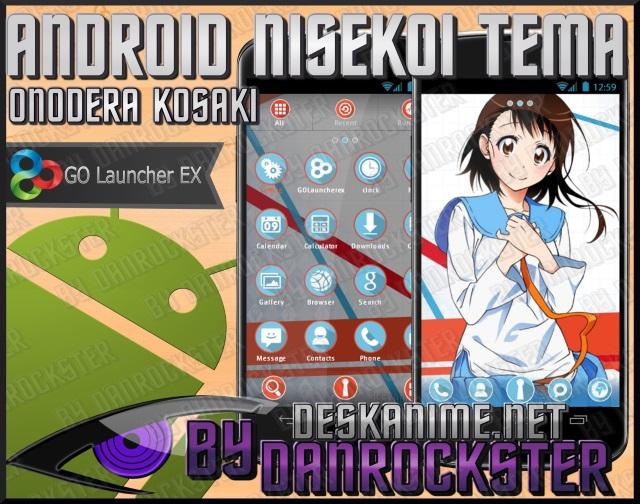 Onodera Kosaki Android Theme by Danrockster