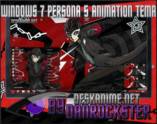 Windows 7 Persona 5 Animation Theme by Danrockster