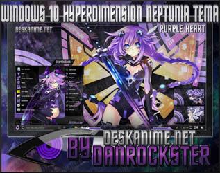 Windows 10 Purple Heart Theme by Danrockster