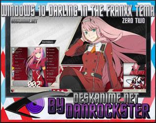 Windows 10 Zero Two Theme by Danrockster