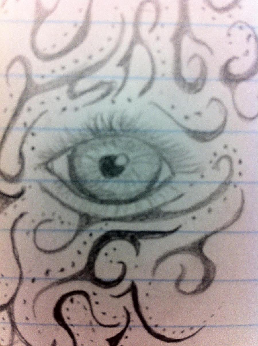 Heavymind Eye by RedShroomChibi