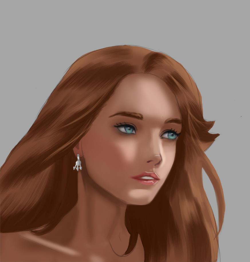 Portrait Practice by Rasmun