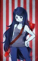 Marceline the Vampire Queen by uixela