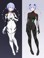 Rei Ayanami by uixela