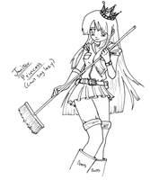 Janitor Princess by LCom