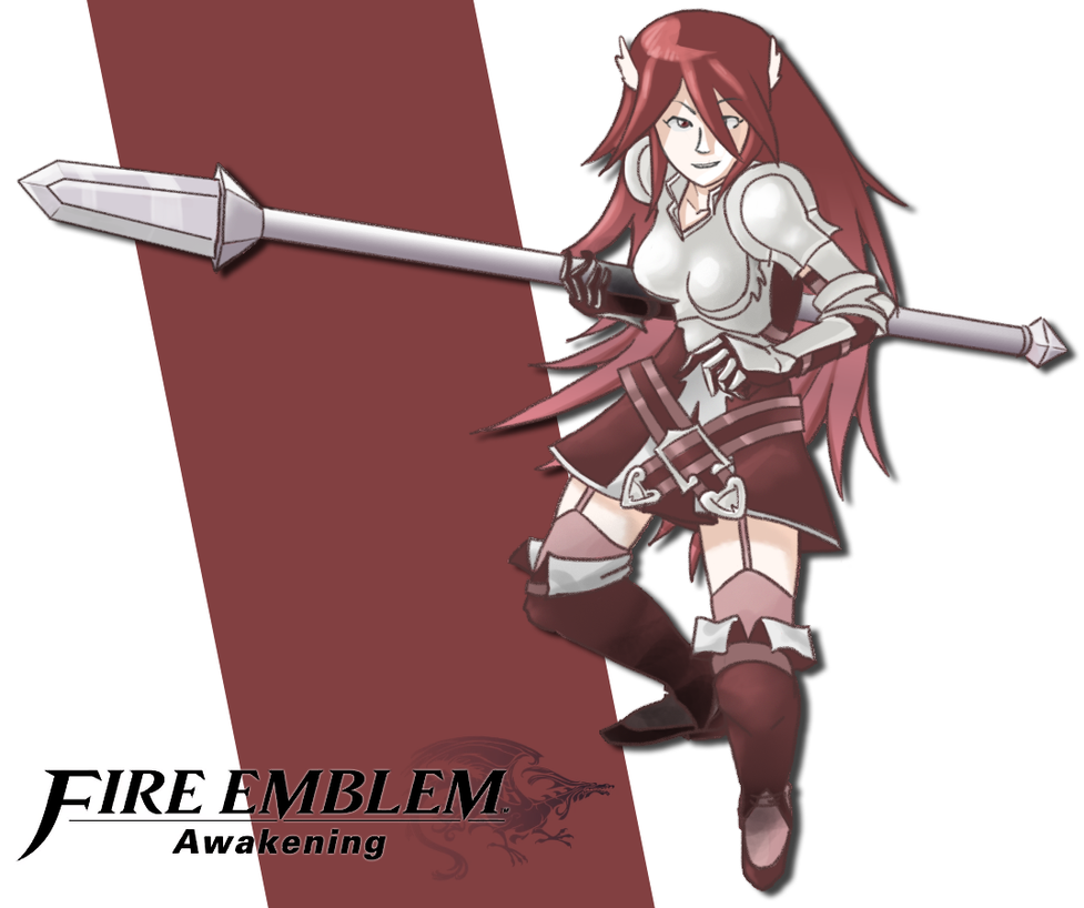 Fire Emblem: Awakening - Cordeilia by LCom