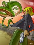 Mexican Dragon Standoff