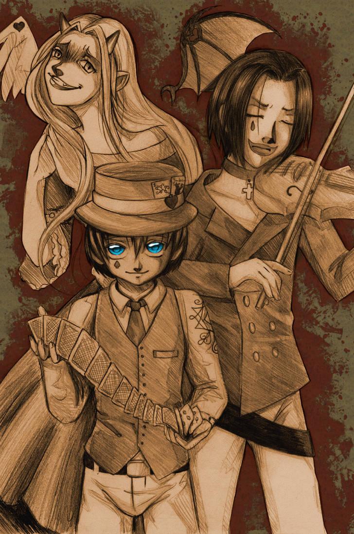 King, Queen and Joker