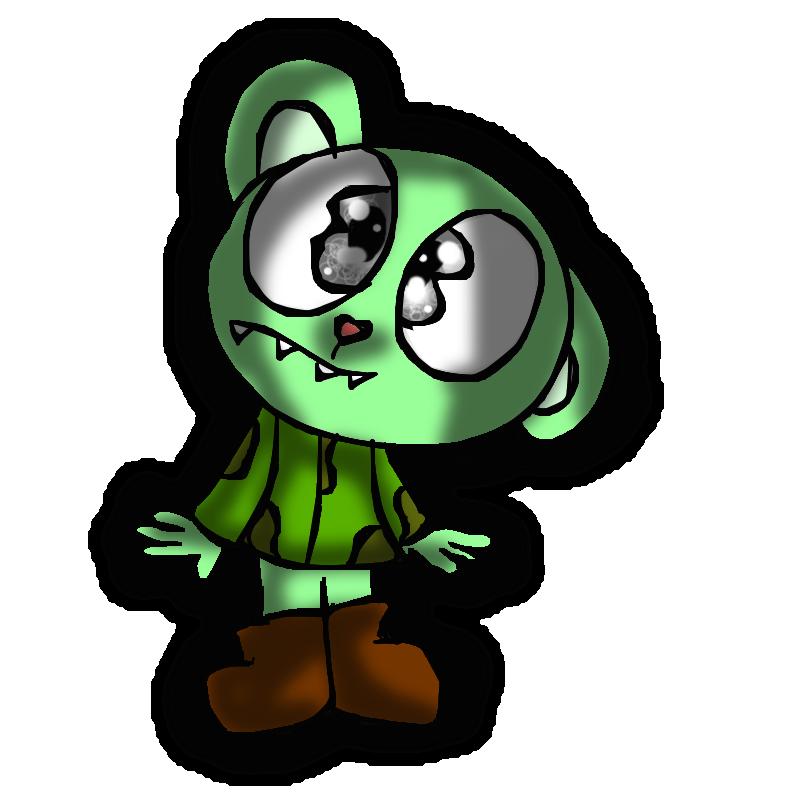 cute little monster by mkb-lover