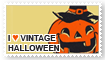 stamp | I Heart Vintage Halloween by levellove