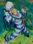 Street Fighter/ Final Fight Cody Smudge by Justawesome6