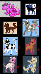 Adoptables 2 by More-Faves-Plz