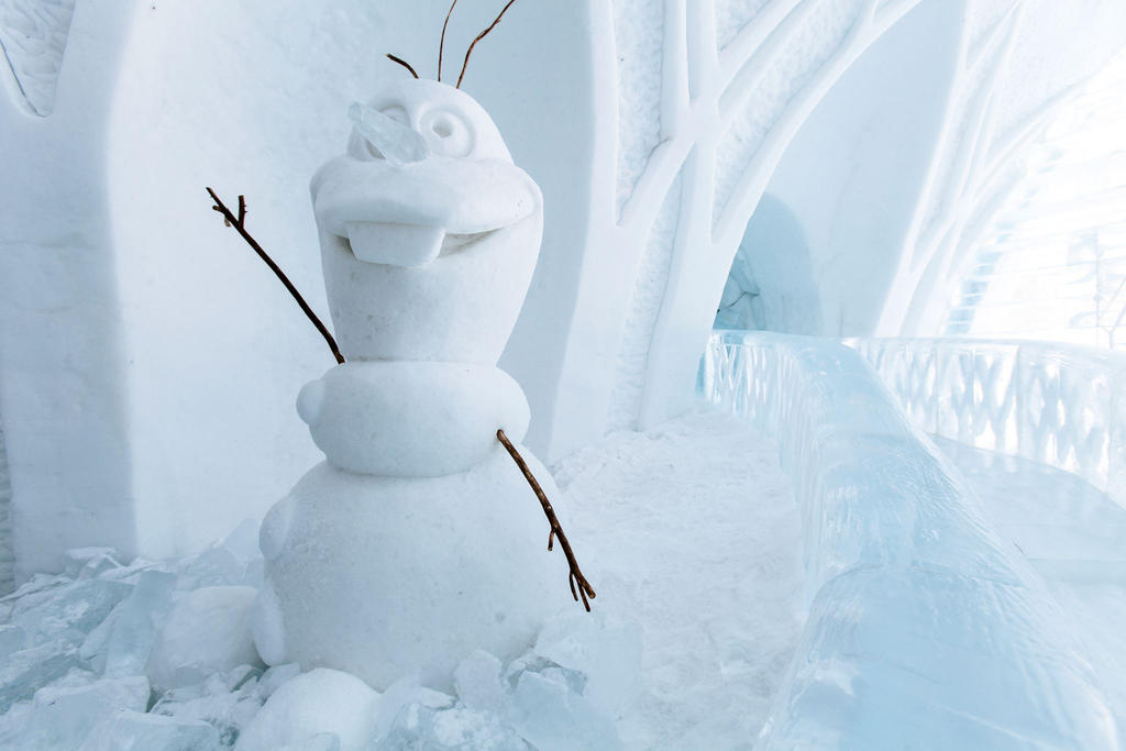 Real Olaf Snowman By Lilium7904 On Deviantart