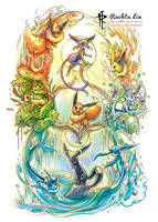 Eevee - Eeveelutions (Pokemon)