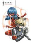 Miraculous Ladybug : Ladybug and Chat Noir