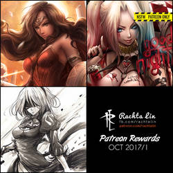 Patreon Rewards : Term 3 (2017/10 first half) by Rachta